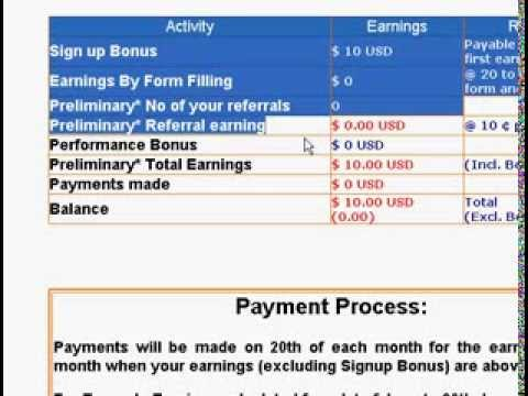 Online Data entry  form filling   typing jobs at home   no fees  no investment  it for free