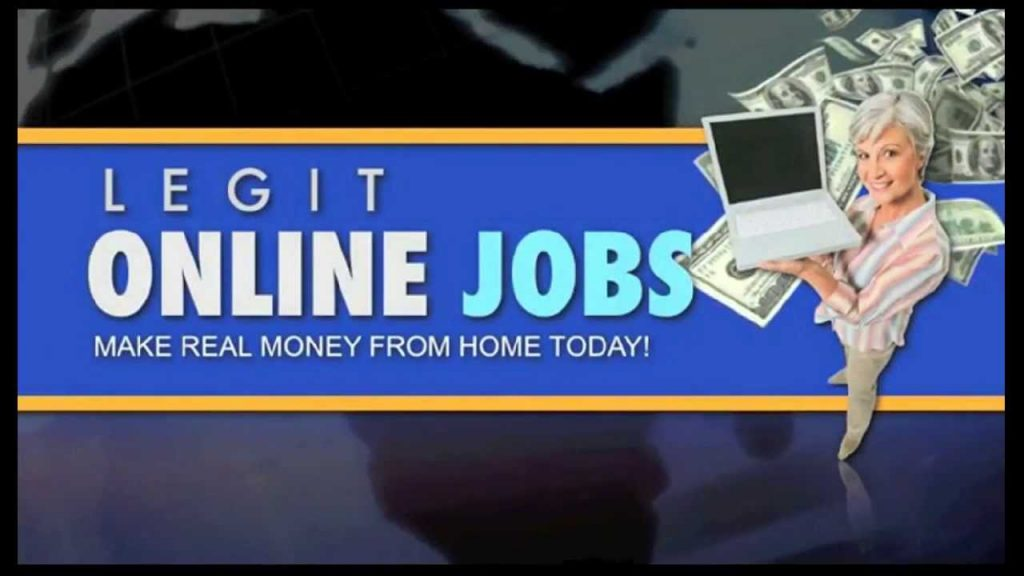 Ligitimate work online from home jobs