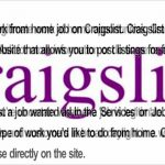 Work From Home Jobs – Work From Home (LEGITIMATE)