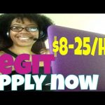 LEGIT WORK FROM HOME JOBS $8-$25/HR| NOW HIRING!!! |