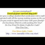 Work At Home Assembly Jobs   GET YOUR FREE Starter Guide!!