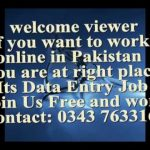 Best Online Typing Job In Pakistan Join Free no investment  work and earn your rupees