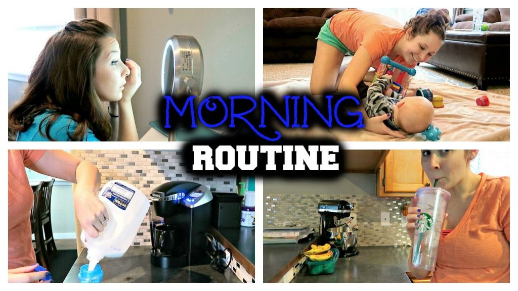 MORNING ROUTINE | Stay-At-Home Mom Edition!!
