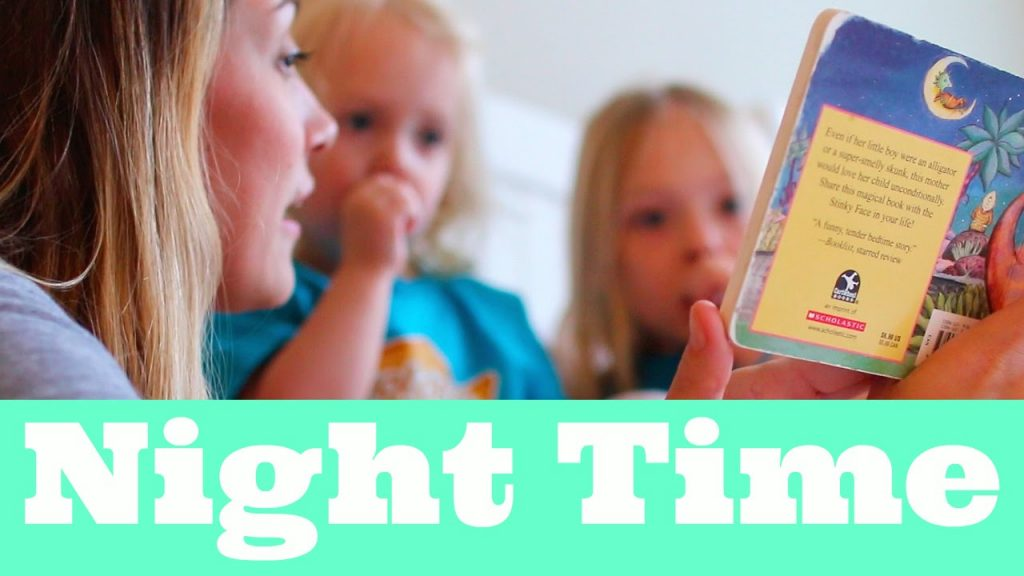 FAMILY NIGHTTIME ROUTINE! || STAY AT HOME MOM