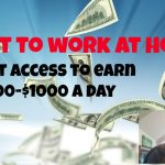 Easy1up [Legitimate Work From Home Jobs] Make $500 $1000 A Day