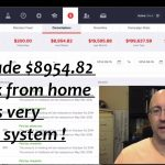 Work From Home: How I Made $8954.82 In a Week Working From Home !