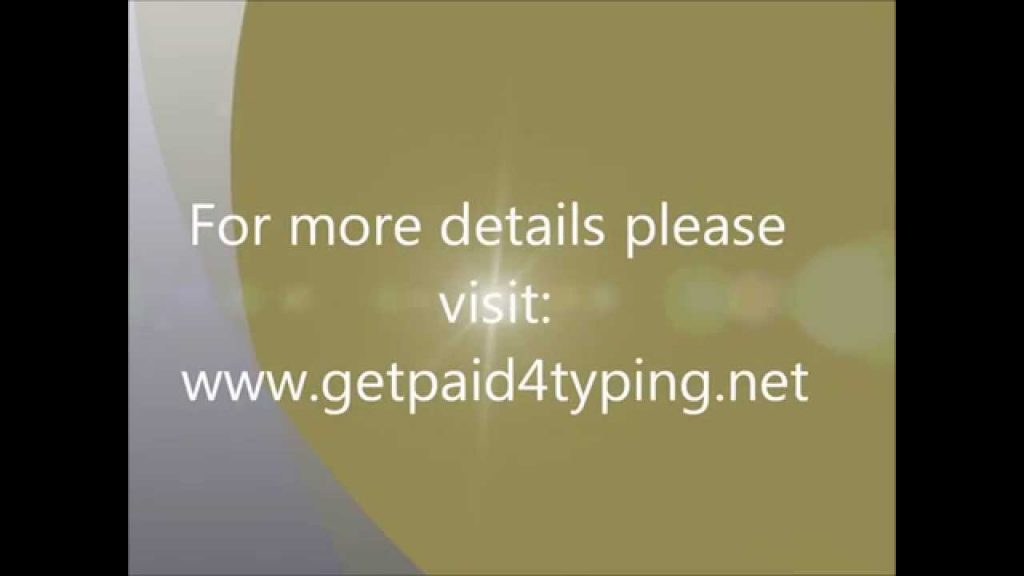 Offline & Online Typing Jobs – free at home part time jobs