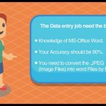 Data entry work at home without investment