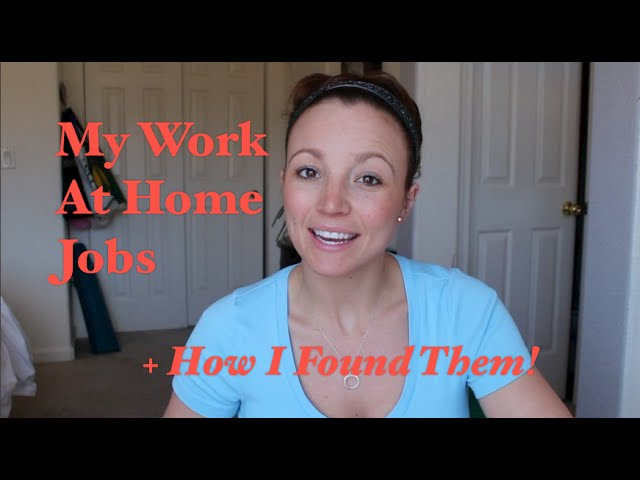 My Jobs & How I Found Them