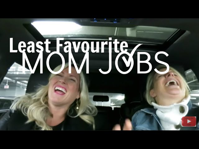 Least Favourite Mom Jobs | #MOMTRUTHS