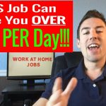 Work At Home Jobs –  [Legitimate Work From Home Jobs] Make Up To $320 PER Day!!